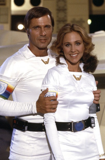 Gil Gerard e Erin Gray em 'Buck Rogers no Século 25' (Fotos: NBC/Arquivo)