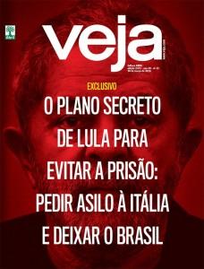 Capa VEJA Lula fuga