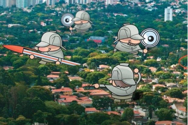 Ilustração de capa da revista Veja São Paulo de 2011, sobre caçadores de terrenos. Matéria escrita por mim, e ilustração de Lucas Pádua com foto de Mario Rodrigues. Leia na íntegra aqui