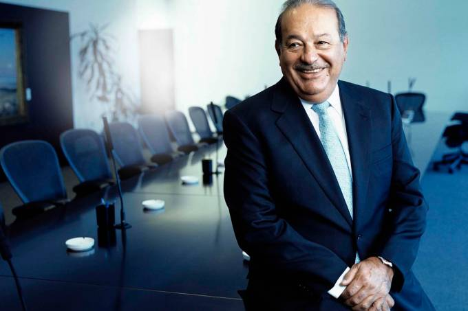 Businessman Carlos Slim Helu