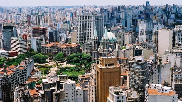 Vista do centro de São Paulo