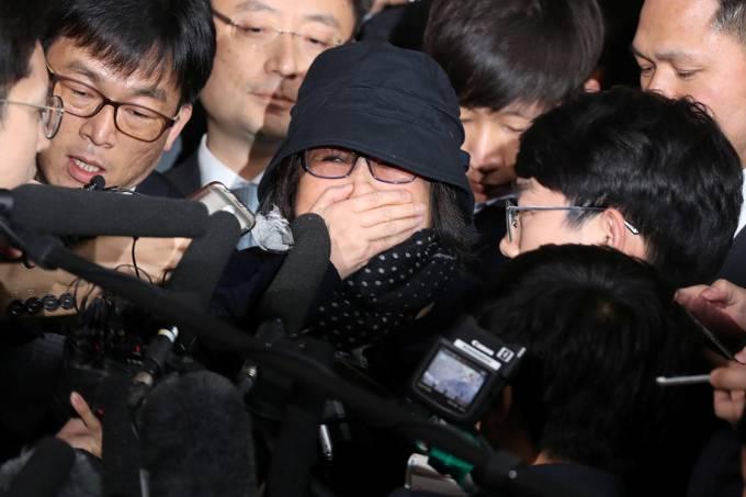 Choi Soon-sil, amiga da presidente da Coreia do Sul