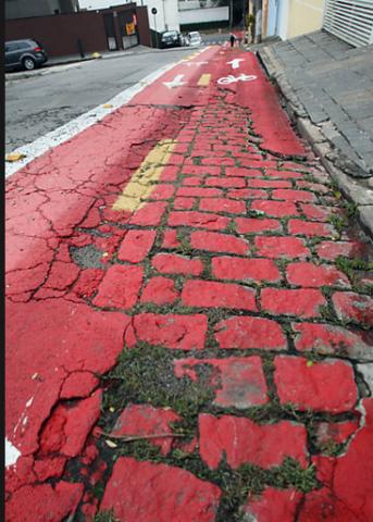 Vila Prudente: graças a Deus, não existem os ciclistas! Ou eles quebrariam a cabeça...