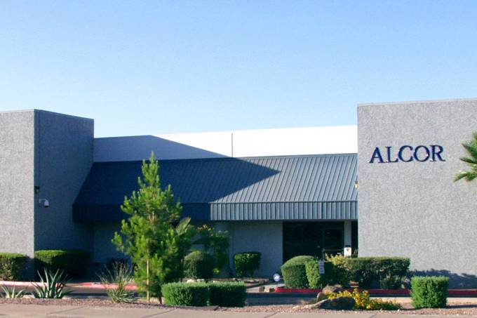 Alcor empresa no estado americano do Arizona que realiza criogenia