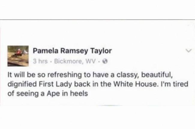 """Internauta xinga primeira-dama dos Estados Unidos: """"Macaca de salto alto"""""""