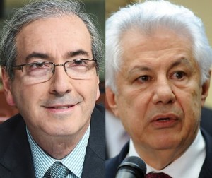 Cunha e Chinaglia: campanhas em meio à posse