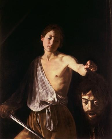 Davi com a cabeça de Golias, Caravaggio