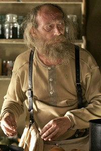 Ralph em 'Deadwood' (Foto: HBO/Arquivo)