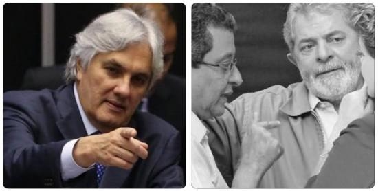 Delcídio Lula Dilma João Santana