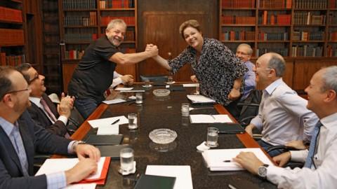 Dilma comitê eleitoral