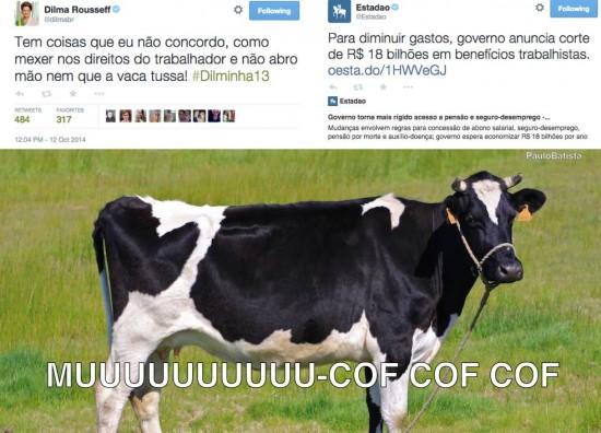 Dilma contradição por Paulo Batista