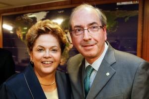 Dilma e Cunha: agora é guerra