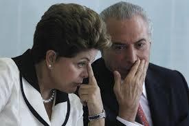 Dilma e Temer: o fiador