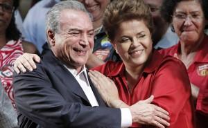 Temer e Dilma: Só o amor constrói