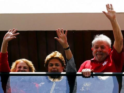 Dilma vai a Lula, num claro desafio à Justiça e às instituições
