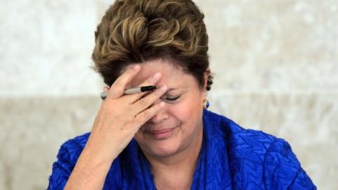 Dilma: vaias depois do pronunciamento e da oficialização da candidatura. Vai mal!