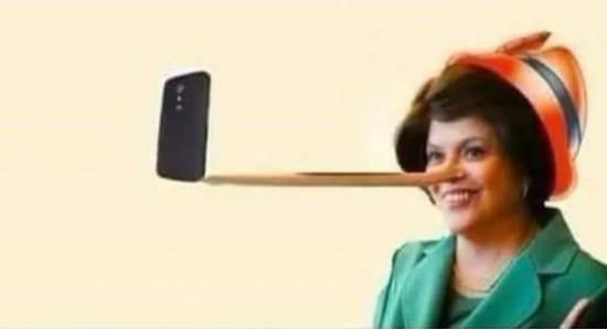 Dilma pinóquio
