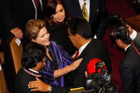 Dilma posse de Maduro