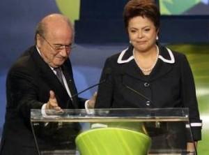 Blatter e Dilma: encontro marcado