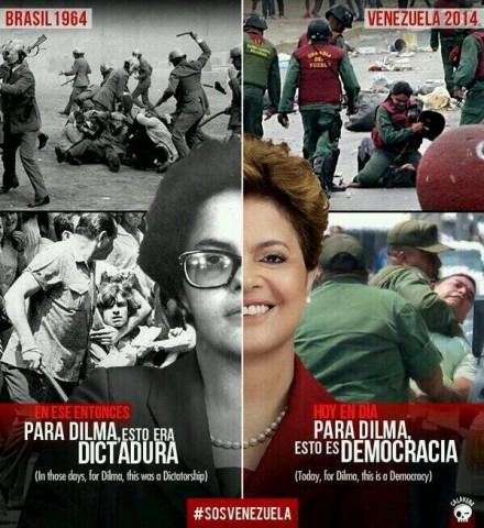 Ditadura -democracia - Dilma