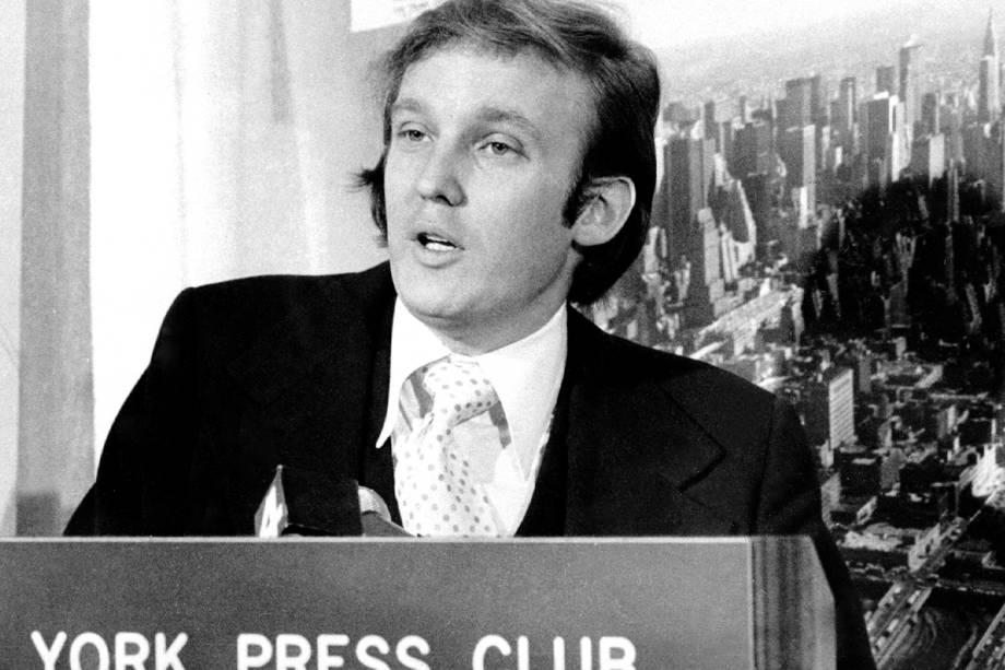 Donald Trump no New York Press Club