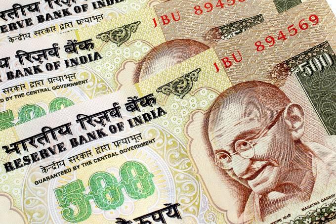 Nota indiana de 500 rúpias
