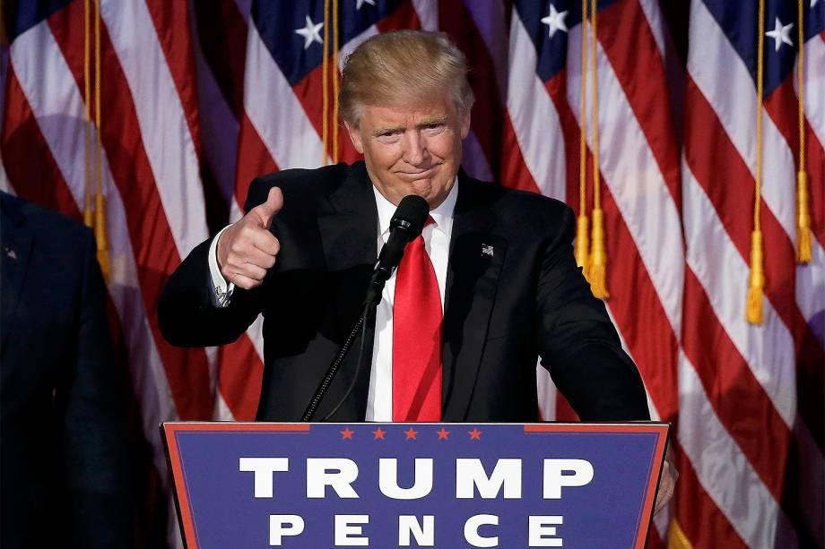 Donald Trump é eleito presidente dos EUA - 09/11/2016