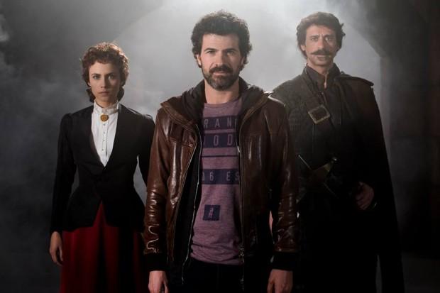Protagonistas de 'El Ministerio del Tiempo' (Fotos: RTVE)