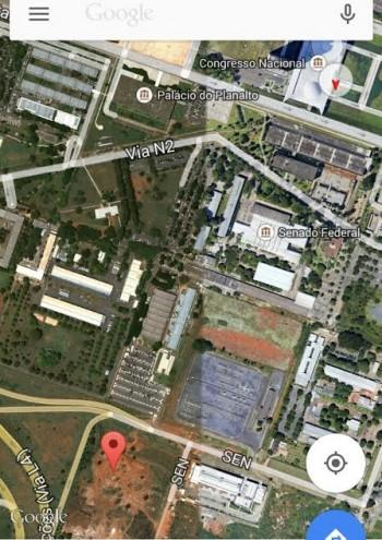 Embaixada Palestina terreno Google Earth