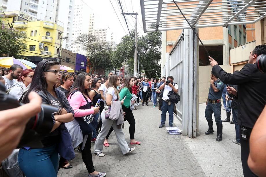 Portões são abertos para o segundo dia de prova do Enem 2016, em São Paulo
