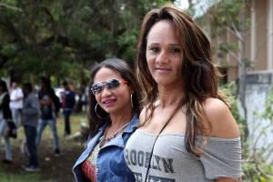 Damily Nóbrega, de 45 anos, e Caroliny Pereira de Jesus, de 29 anos