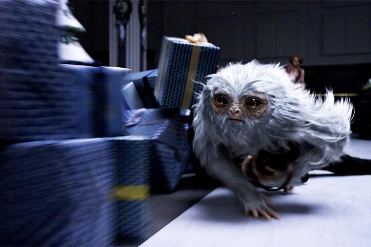 Cena do filme 'Animais Fantásticos e Onde Habitam', do diretor  David Yates