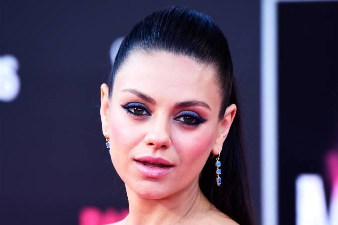 A atriz americana Mila Kunis