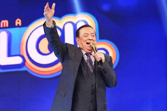 O apresentador Raul Gil