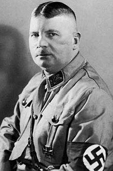 Ernst Röhm, o chefe da SA nazista: antes de Cantalice, ele já fazia listas para espancamentos