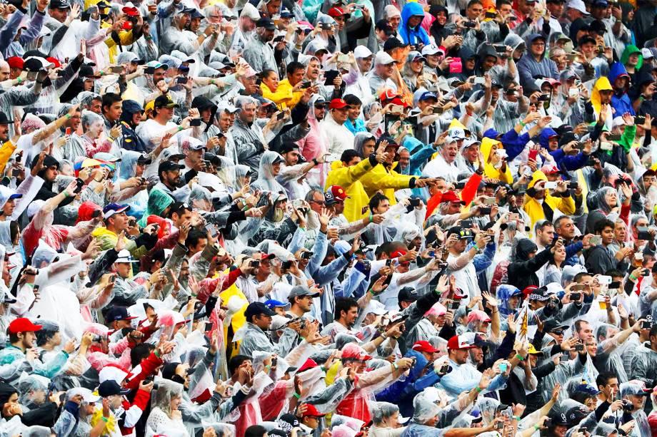 Público durante o Grande Prêmio do Brasil de Fórmula 1, realizado no Autódromo de Interlagos - 13/11/2016