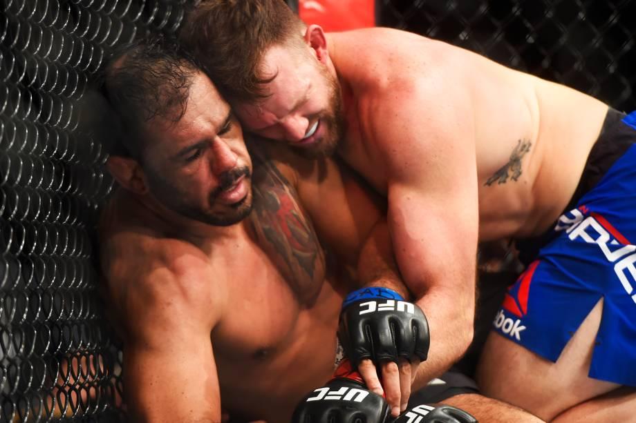 Rogério Minotouro enfrenta Ryan Bader pelo UFC Fight Night, realizado no Ginásio do Ibirapuera, em São Paulo (SP) - 20/11/2016