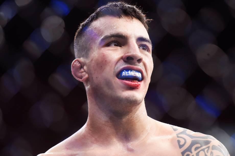 Thomas Almeida vence Albert Morales, na quinta luta do card principal do UFC Fight Night, realizado no Ginásio do Ibirapuera, em São Paulo (SP) - 20/11/2016