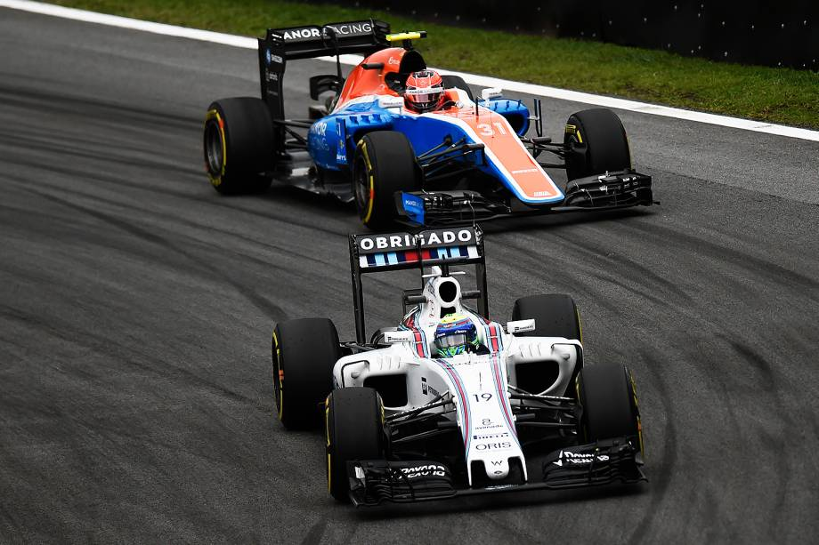 O piloto Felipe Massa durante o treino classificatório para o Grande Prêmio do Brasil de Fórmula 1, realizado no Autódromo de Interlagos, zona sul de São Paulo (SP) - 12/11/2016