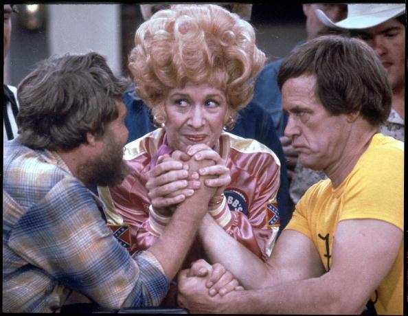 Em cena da sitcom 'Flo', na década de 1980. (Foto: CBS/Arquivo)