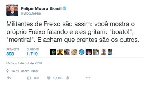 FMB tuite militantes Freixo