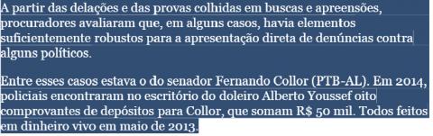 Folha Janot inquéritos 3