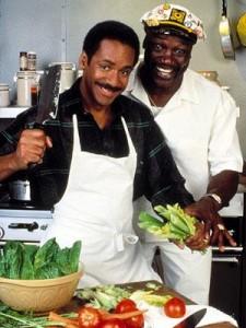Tim Reid e Tony em 'Frank's Place' (Foto: CBS/Arquivo)