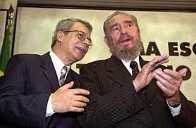 Frei Betto e Fidel Castro