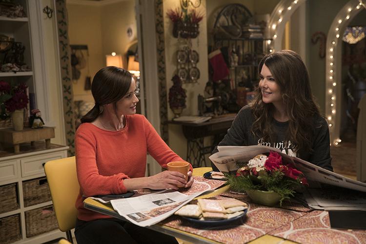 Cena da série 'Gilmore Girls'