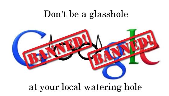 Logo da campanha contra os usuários do Glass, liderada pelo engenheiro de software Daen de Leon