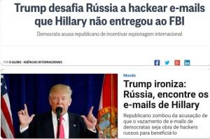 Globo x VEJA russos