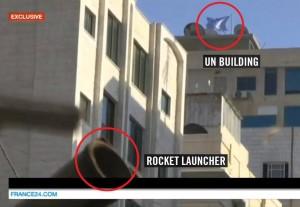 Hamas foguete ONU