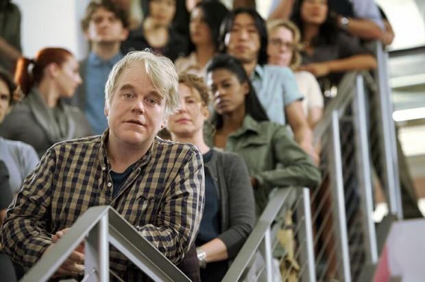 Hoffman em cena de 'Happyish' (Foto: Showtime/Arquivo)