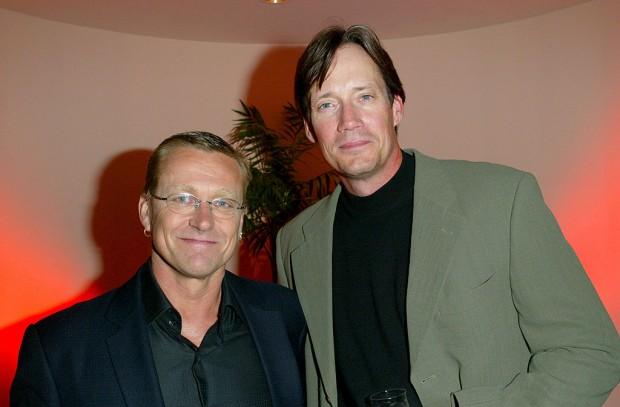 (E-D) Michael Hurst e Kevin Sorbo (Foto: Donato Sardella/WireImage)